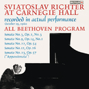 Sviatoslav Richter Live at Carnegie Hall: All Beethoven Program (October 19, 1960)/Sviatoslav Richter