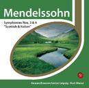 Mendelssohn: Symphonies Nos. 3 & 4/Kurt Masur