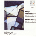 Rachmaninov/Grieg: Cello Sonatas/Emil Klein