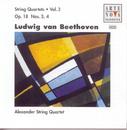 Beethoven: String Quartets Vol.3 Op.18 No. 3+4/Alexander String Quartet