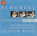 Schubert: Symphony No. 1 & 2/Günter Wand