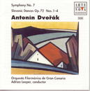 Dvorak: Symphony No. 7/Slavonic Dances op.72/Adrian Leaper