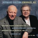 Brahms: Concerto No. 2 for Piano and Orchestra, Op. 83 & Violin Sonata in D Major, Op. 78/Emanuel Ax