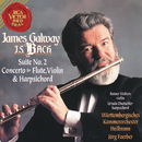 James Galway Plays Bach: Suite No. 2 & Concerto for Flute, Violin and Harpsichord/James Galway