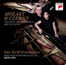 Mozart & Czerny: Concertos for Two Pianists and Orchestra/Tal & Groethuysen