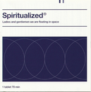Ladies And Gentlemen We Are Floating In Space/Spiritualized