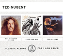 Cat Scratch Fever/Free-For-All/Ted Nugent (3 Pak)/Ted Nugent