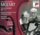 Mozart: Violin Concertos No. 1 - 5, Sinfonia Concertante, Concertone/Isaac Stern
