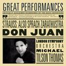 Richard Strauss: Also sprach Zarathustra, Op. 30, TrV 176 & Don Juan, Op. 20, TrV 156/Michael Tilson Thomas