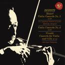 "Mozart: Violin Concertos No. 4  in D Major, K. 218 & No. 5 in A Major, K. 219 ""Turkish"" -  Vivaldi: Concerto for Violin and Cello in B-Flat Major, RV 547 - Heifetz Remastered/Jascha Heifetz"