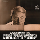 Schubert: Symphony No.2 in B-Flat Major, D. 125 - Beethoven: Die Geschöpfe des Prometheus, Op. 43 (Excerpts)/Charles Munch