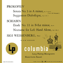 Piano Music of Prokofiev and Scriabin/Sigi Weissenberg