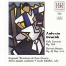 Dvorak: Cello Concerto, Slavonic Dances/Adrian Leaper