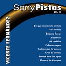 Sony - Pistas Vol.3 (Vicente Fernández)/Pista