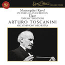 """Mussorgsky: Pictures at an Exhibition - Elgar: Variations on an Original Theme, Op. 36 """"Enigma""""/Arturo Toscanini"""