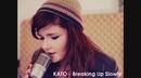 Breaking Up Slowly (Lyric Video)/KATO