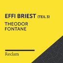 Fontane: Effi Briest (Reclam Hörbuch) - Teil 3/Reclam Hörbücher x Hans Sigl x Theodor Fontane