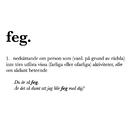 Feg/Södra Station