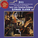 Ives: Symphony 3 & The Unanswered Question & Three Places in New England/Leonard Slatkin