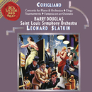Corigliano: Tournaments & Fantasia on an Ostinato & Elegy & Concerto for Piano and Orchestra/Leonard Slatkin
