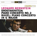 Shostakovich: Piano Concerto No. 2 -  Ravel: Piano Concerto in G Major - Gershwin: Rhapsody in Blue/Leonard Bernstein