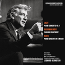 Liszt: Piano Concerto No. 1 in E-Flat Major, S. 124 - Rachmaninoff: Rhapsody on a Theme by Paganini, Op. 43 - Ravel: Piano Concerto in G Major, M. 83/Leonard Bernstein