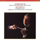 Beethoven: Symphony No. 7 in A Major, Op. 92, Coriolan Overture, Op. 62 & Overture from the Creatures of Prometheus, Op. 43/André Previn