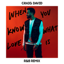 When You Know What Love Is (R&B Remix)/Craig David