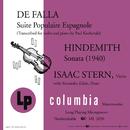 De Falla: Suite populaire espagnole - Hindemith: Sonata (1940)/Isaac Stern