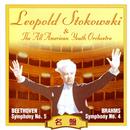 ベートーヴェン:交響曲 第5番 & ブラームス:交響曲 第4番/オール・アメリカン・ユース管弦楽団/レオポルド・ストコフスキー