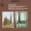 Mozart: Piano Concerto No. 24 in C Minor, K. 491 - Schoenberg: Piano Concerto, Op. 42 (Remastered)/Glenn Gould