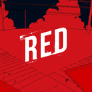 RED/GOUACHE