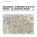 Chausson: Symphony in B-Flat Major, Op. 20 - Franck: Le Chasseur maudit, FWV 44/Charles Munch