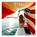 a girl a bottle a boat/Train
