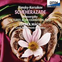 リムスキー=コルサコフ: 「シェエラザード」、ムソルグスキー: 「展覧会の絵」 ラヘ゛ル編/ズデニェク・マーツァル/チェコ・フィルハーモニー管弦楽団