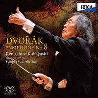 ドヴォルザーク:交響曲第 8番/小林研一郎/ハンガリー放送交響楽団
