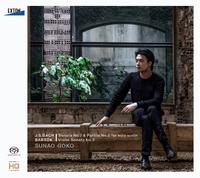 J.S.バッハ:無伴奏ヴァイオリン・ソナタNo. 2&パルティータNo. 2、バルトーク:ヴァイオリン・ソナタNo. 2/郷古廉/加藤洋之