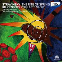 ストラヴィンスキー:バレエ音楽「春の祭典」&シェーンベルク:浄められた夜/ジョナサン・ノット/東京交響楽団
