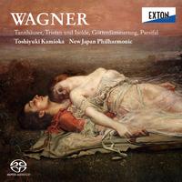 ワーグナー <タンホイザー><トリスタンとイゾルデ><神々の黄昏><パルジファル>/上岡敏之/新日本フィルハーモニー交響楽団
