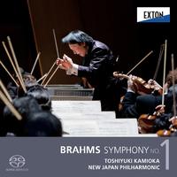 ブラームス:交響曲 第 1番/上岡敏之/新日本フィルハーモニー交響楽団