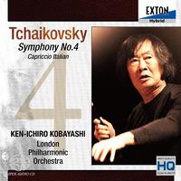 チャイコフスキー:交響曲 第 4番、イタリア奇想曲/小林研一郎/ロンドン・フィルハーモニー管弦楽団