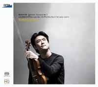 バルトーク:ヴァイオリン・ソナタ 第 1番、J.S.バッハ:無伴奏ソナタ第 3番&パルティータ第 3番/郷古廉/加藤洋之