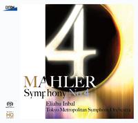 マーラー:交響曲 第4番/森麻季/エリアフ・インバル/東京都交響楽団