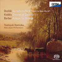 ドヴォルザーク:交響曲第 9番「新世界より」/上岡敏之/新日本フィルハーモニー交響楽団