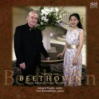 ベートーヴェン ヴァイオリン・ソナタ第9番<クロイツェル>& ヴァイオリン・ソナタ第10番/ジェラール・プーレ、川島余里