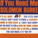 If You Need Me/Solomon Burke