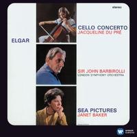 エルガー:チェロ協奏曲/歌曲集「海の絵」