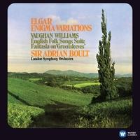 エルガー:エニグマ変奏曲/ヴォーン・ウィリアムズ:イギリス民謡組曲、グリーンスリーヴズの主題による幻想曲