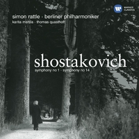 Shostakovich: Symphonies Nos 1 & 14 (Mastered specifically for HD 44/24)