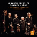 Menahem Pressler - A 90th Birthday Celebration - Live in Paris/Quatuor Ébène